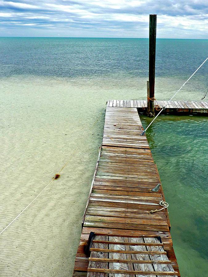 Marathon Key Photograph - Marathon Dock Florida Keys by Jo Sheehan