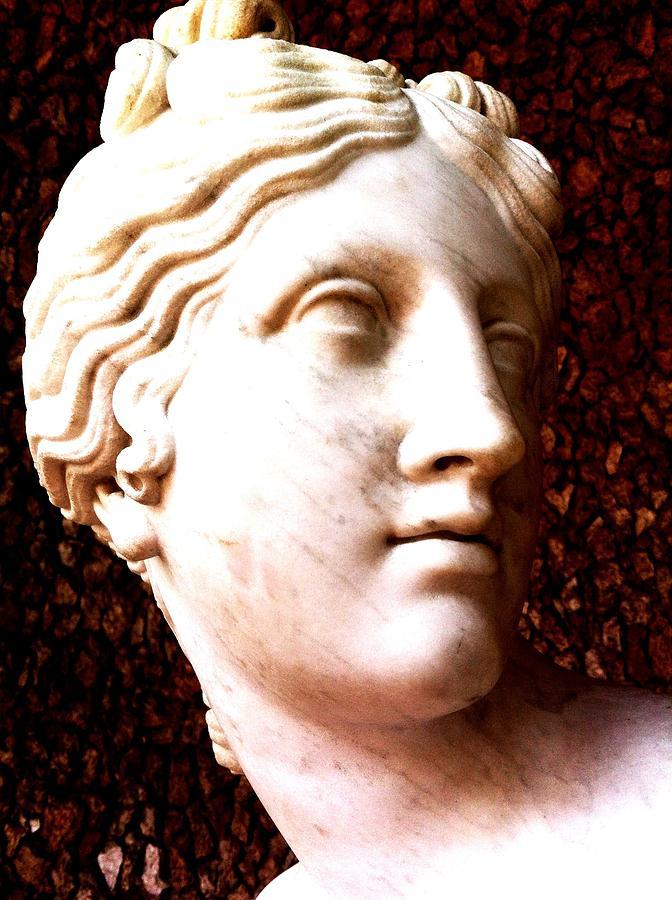 Roman Antiquities Photograph - Marble Sculpture by Paul Washington