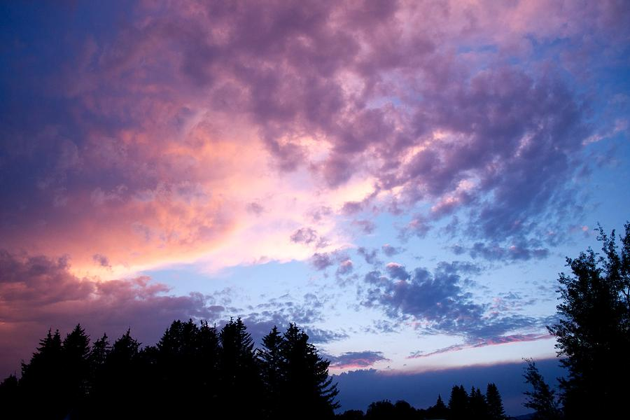 Sunset Photograph - Marble Sky by Kevin Bone