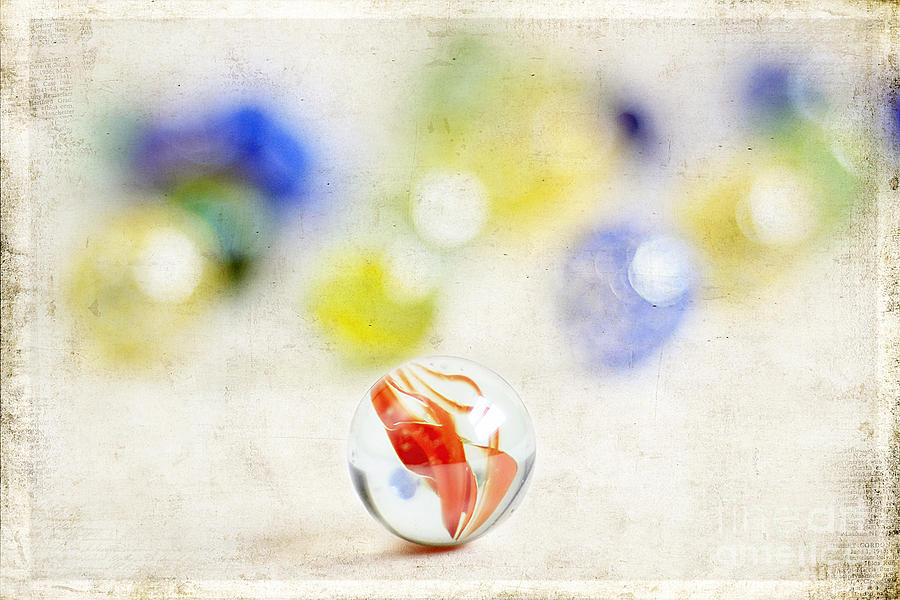 Abstract Photograph - Marbles by Darren Fisher