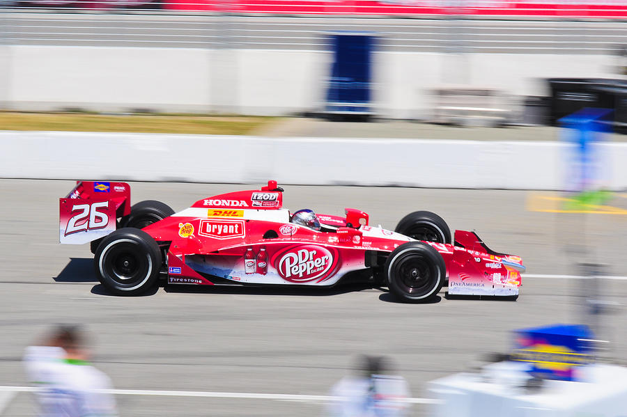 Marco Andretti Photograph - Marco Andretti At Toronto Indy by Jarvis Chau
