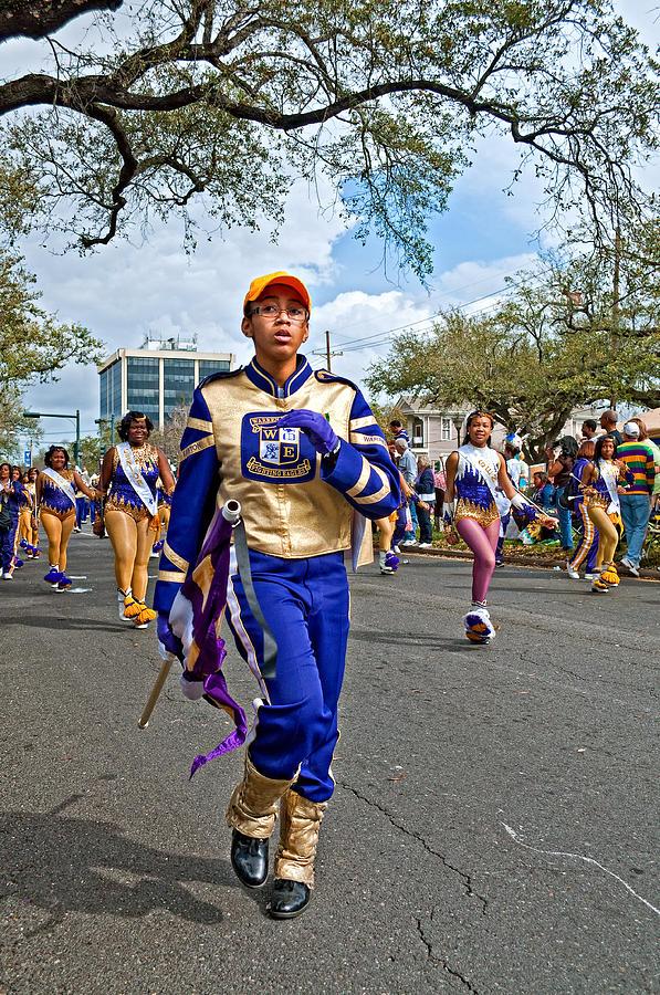New Orleans Photograph - Mardi Gras Struttin by Steve Harrington