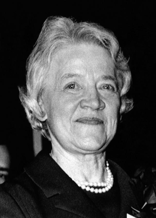 1970s Candids Photograph - Margaret Chase Smith, 1897-1997 by Everett