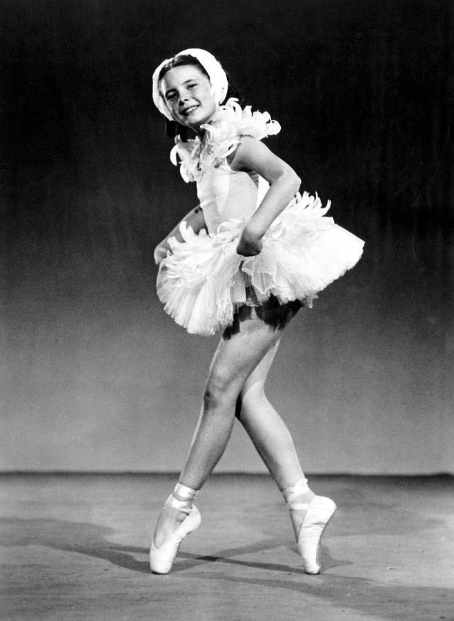 Ballerina Photograph - Margaret Obrien, Ca. 1940s by Everett