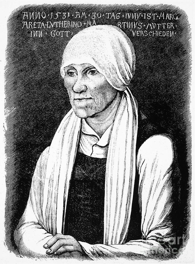 16th Century Photograph - Margarethe Luther by Granger