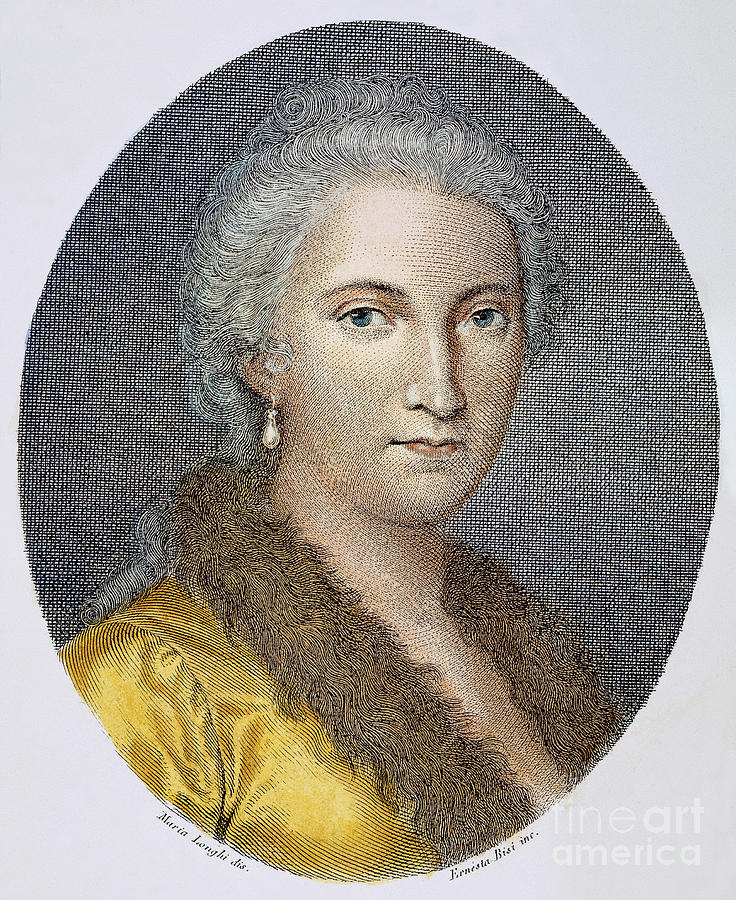18th Century Photograph - Maria Agnesi (1718-1799) by Granger