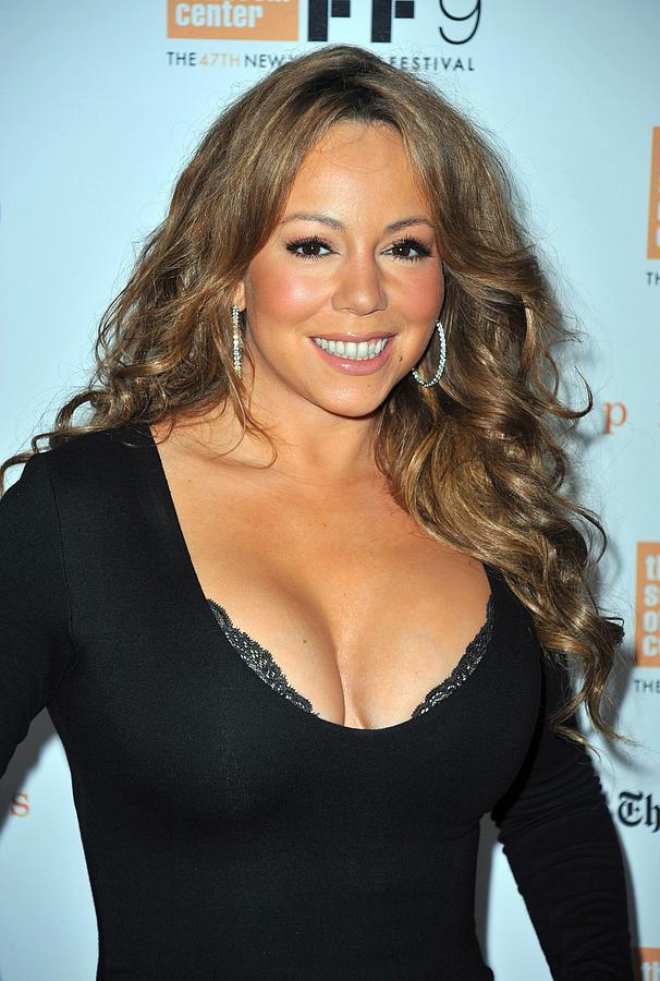 Mariah Carey Photograph - Mariah Carey At Arrivals For New York by Everett
