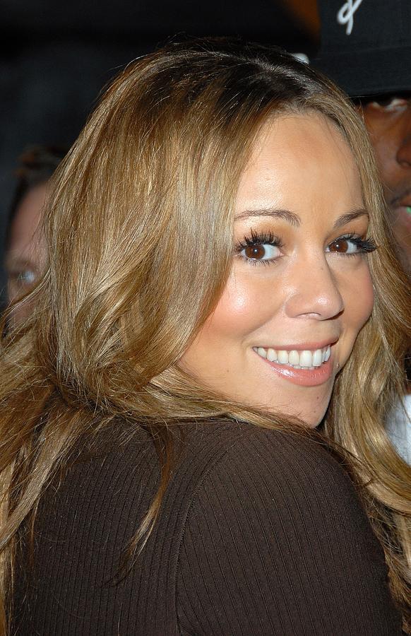 Mariah Carey Photograph - Mariah Carey At Talk Show Appearance by Everett