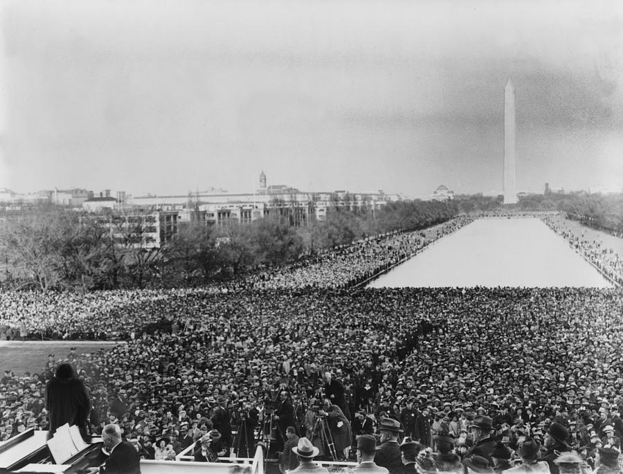 History Photograph - Marian Anderson 1897-1993, Lower Left by Everett