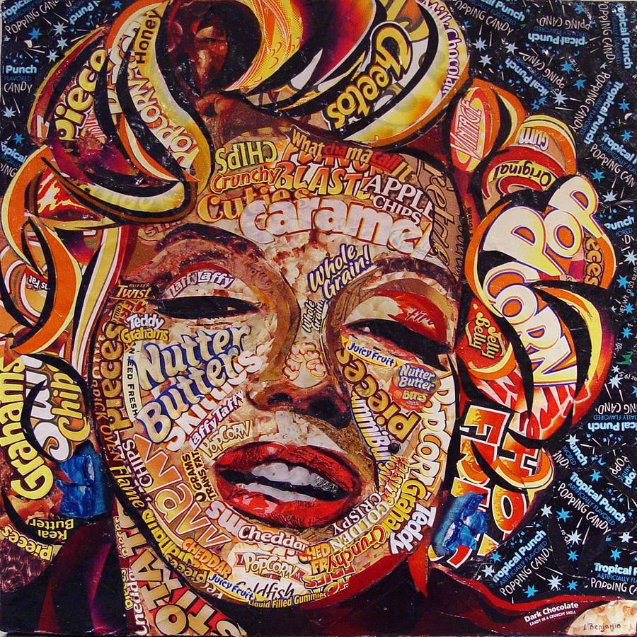 Candy Queen Mixed Media by Laura Benjamin