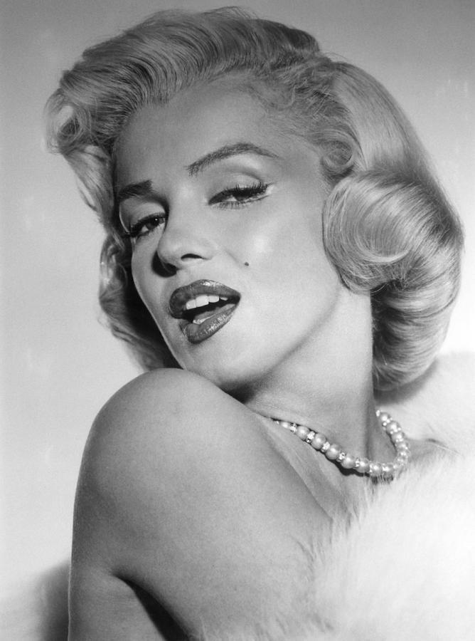 Monroe Photograph - Marilyn Monroe, Ca. Mid 1950s by Everett
