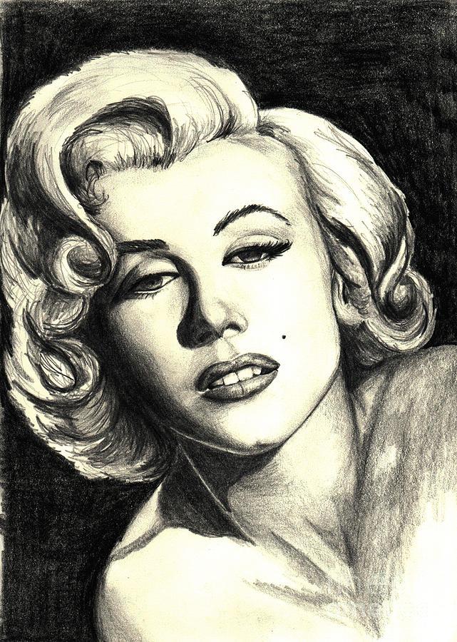 Marilyn Painting - Marilyn Monroe by Debbie DeWitt