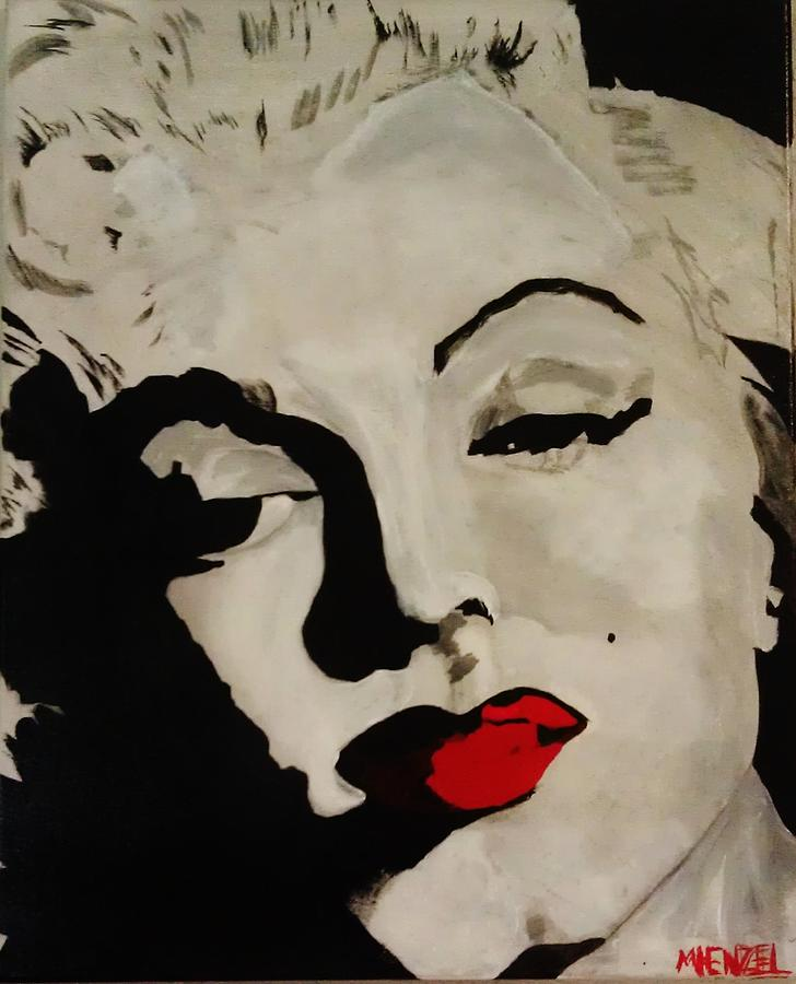 Marilyn Monroe Painting - Marilyn2 by Michael Henzel