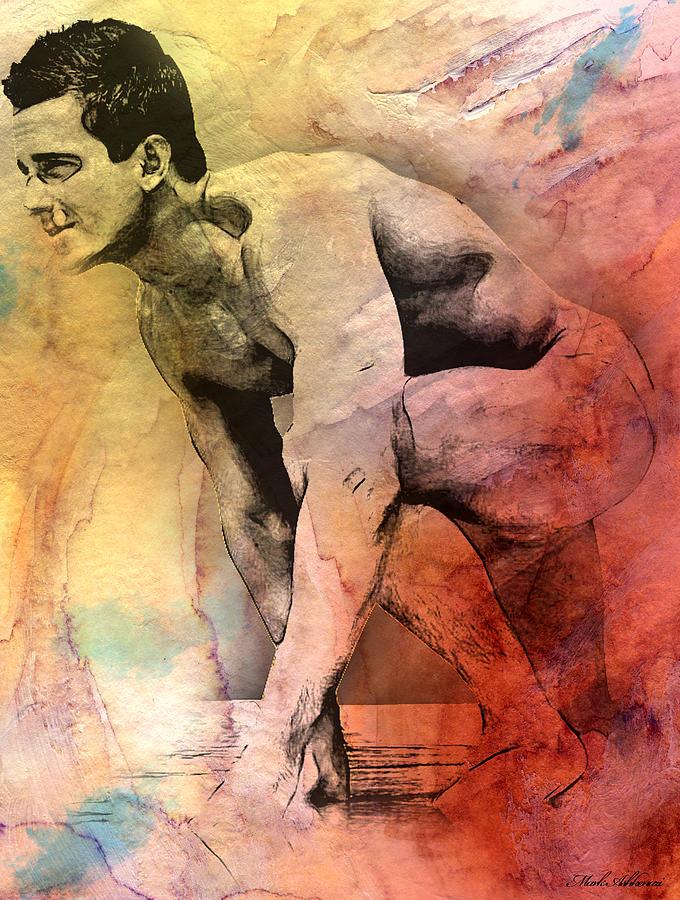 Male Digital Art - Mark by Mark Ashkenazi