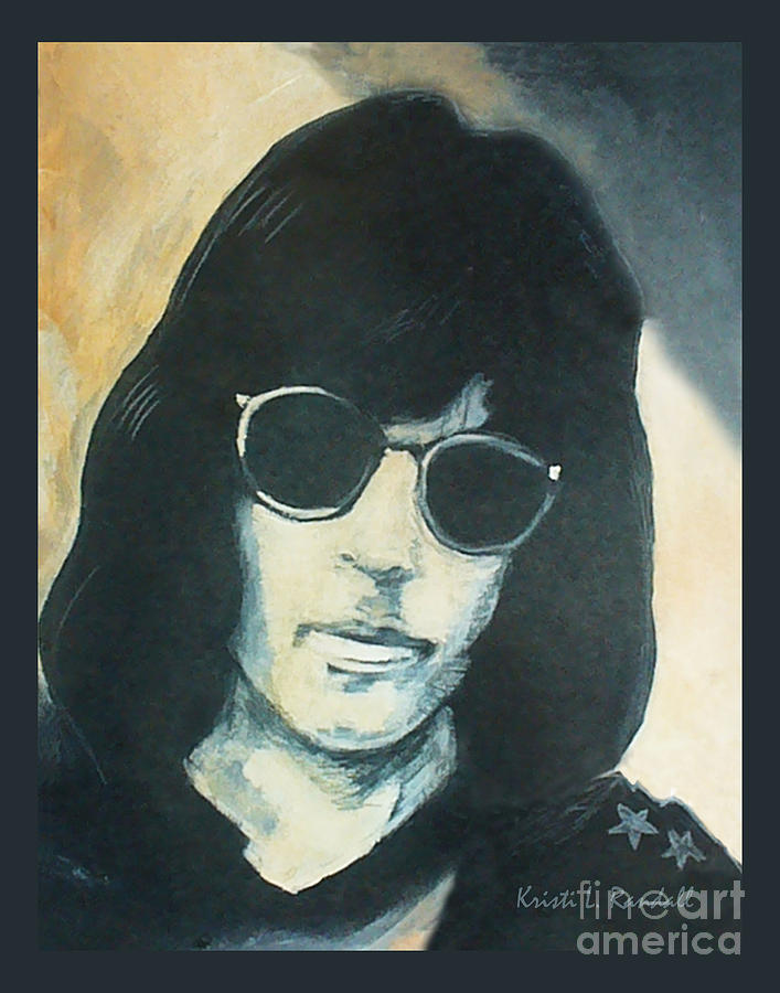Marky Ramone Painting - Marky Ramone The Ramones Portrait by Kristi L Randall