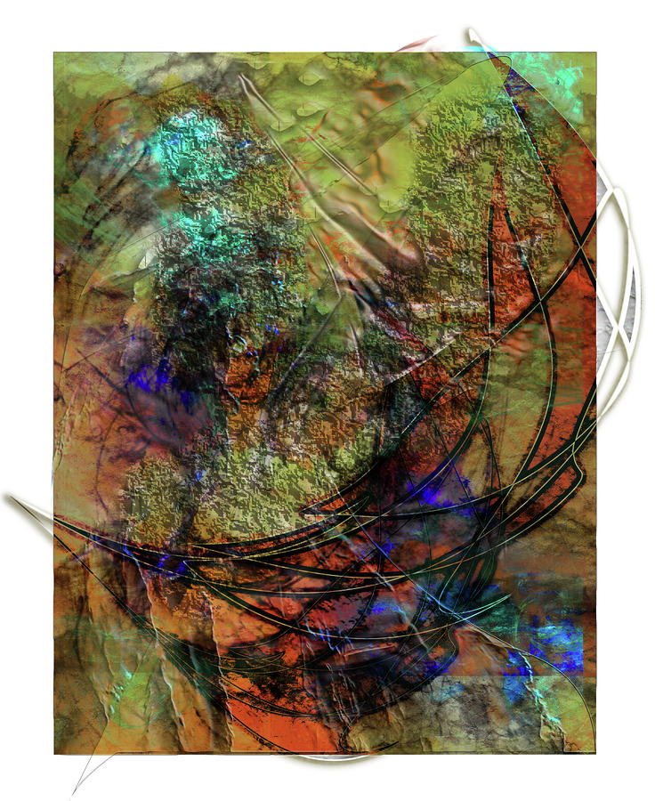 Abstraction Digital Art - Marmalade by Monroe Snook