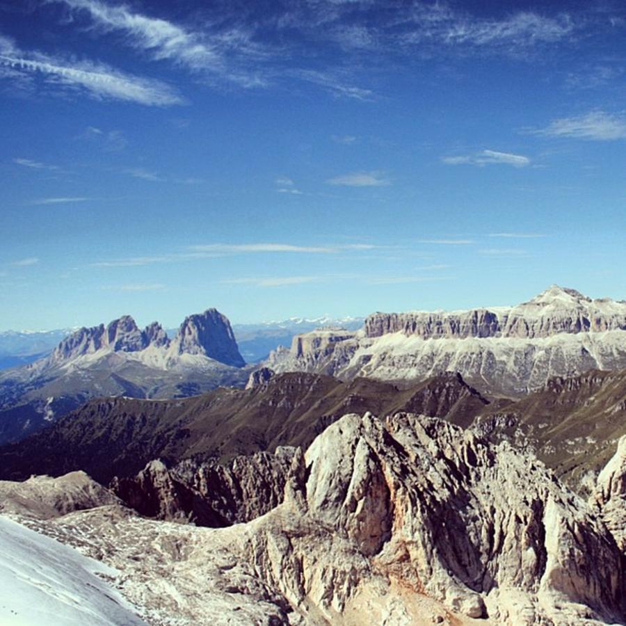 Dolomites Photograph - Marmolada - Dolomites by Luisa Azzolini