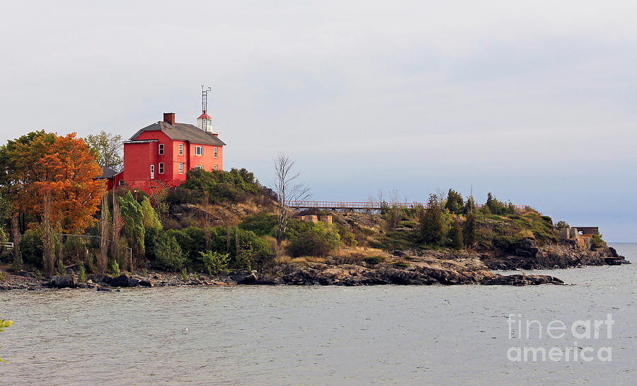 Marquette Harbor Lighthouse Photograph