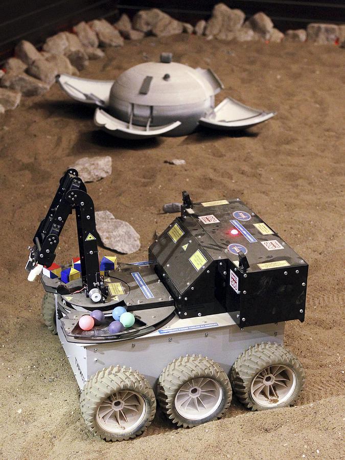 21st Century Photograph - Mars Rover Testing by Ria Novosti