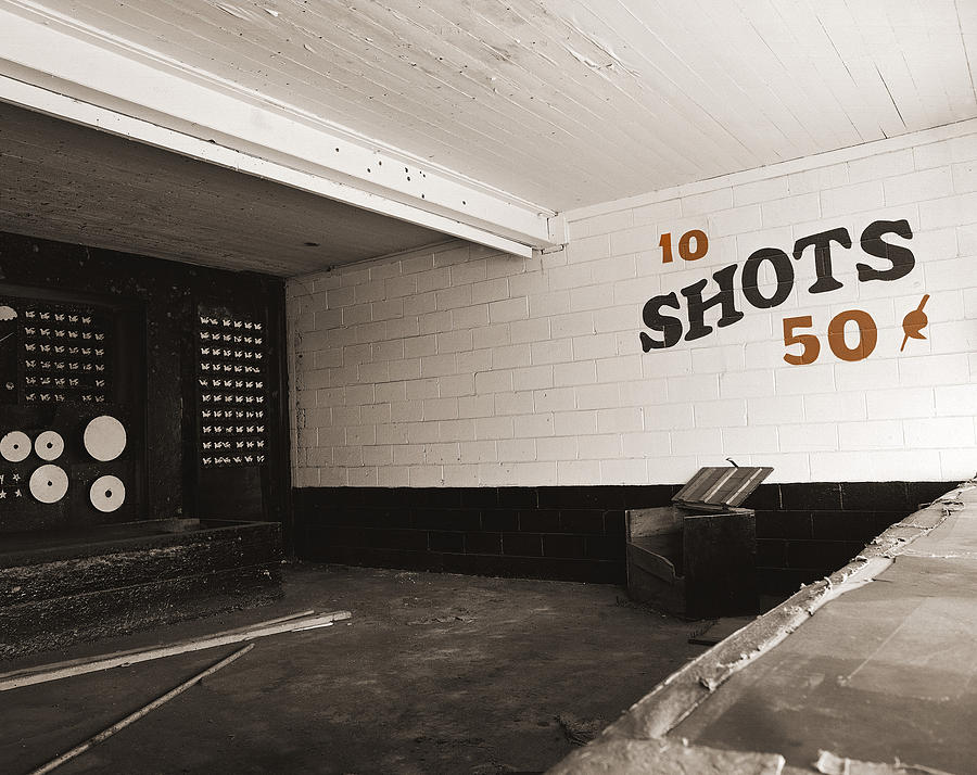 Shooting Gallery Photograph - Marshall Hall Shooting Gallery by Jan W Faul