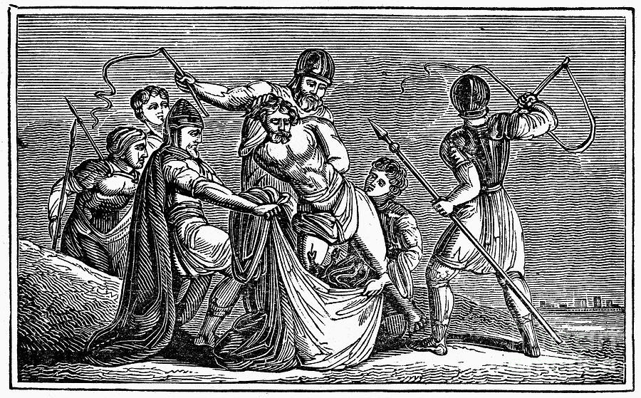 305 Photograph - Martyrdom: Saint Julian by Granger