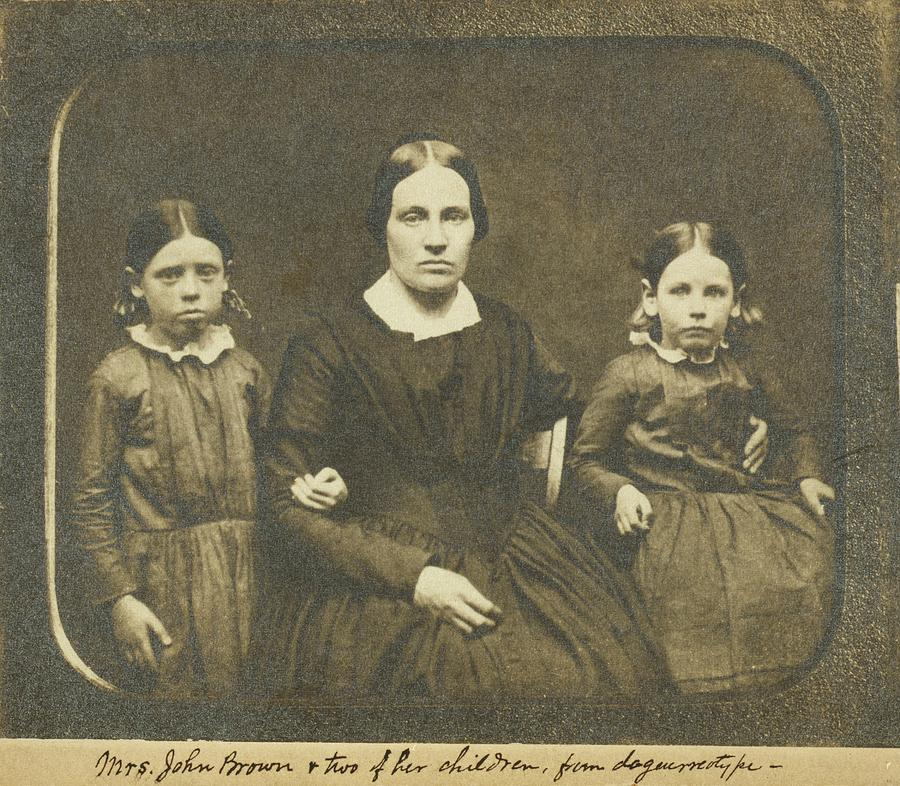 History Photograph - Mary Ann Brown 1817-1884, The Second by Everett