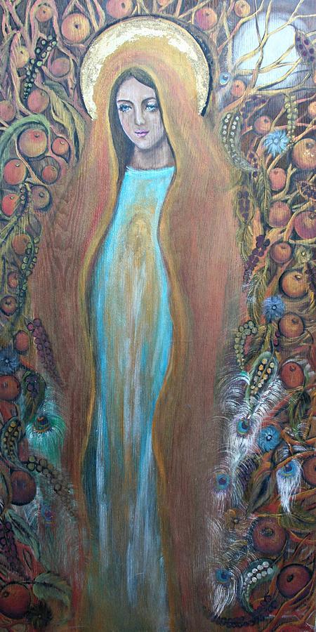 Mary Magdalene And The Tree Of Life Painting By Alma Yamazaki