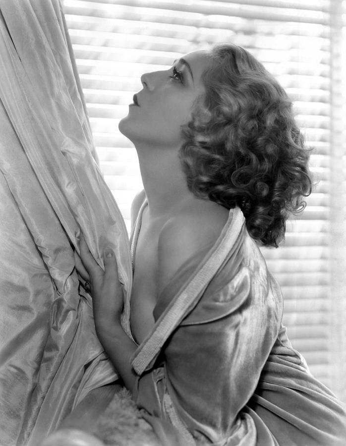 Curly Hair Photograph - Mary Pickford, 1935 by Everett