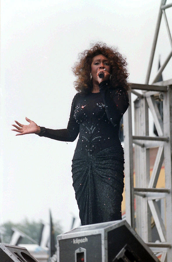 Music Photograph - Mary Wilson by Mike Martin