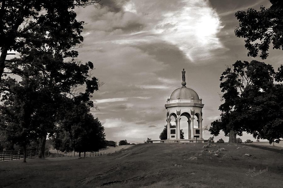 Civil War Photograph - Maryland Monument - Antietam by Judi Quelland