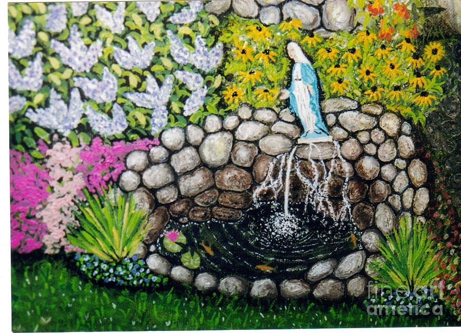 Christian Painting - Marys Pond by William Ohanlan