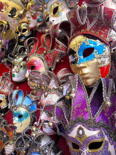Mask Photograph - Masquerade Full Color by Heidi Horowitz