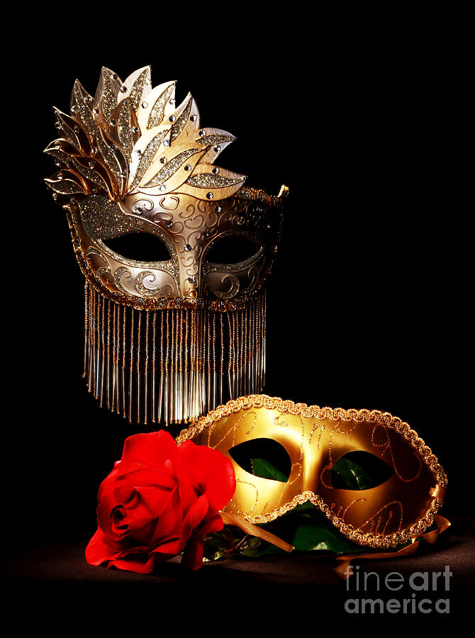 Masquerade Photograph - Masquerade by Gary Scott