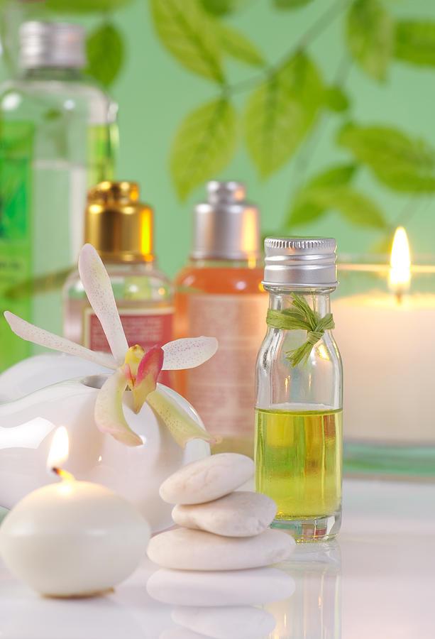 Spa-treatment Photograph - Massage Spa Concepts by Atiketta Sangasaeng