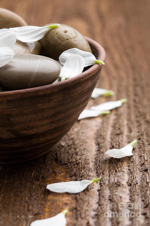 Stone Photograph - Massage Stones  by Kati Molin