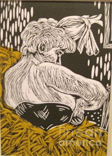 Master Copy Lautrec Mixed Media by Cynthia Mozingo