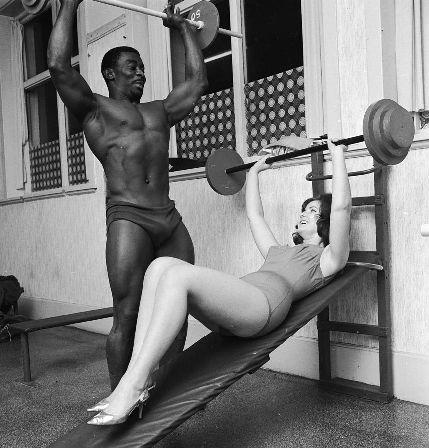 Adult Photograph - Matching Muscles by John Drysdale