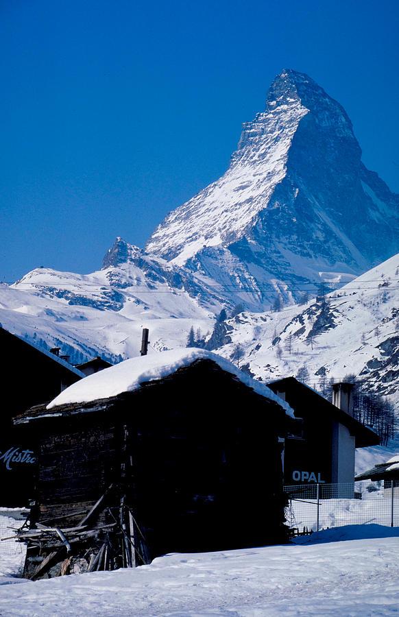 matterhorn mountain in zermatt switzerland photograph