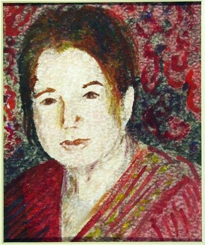 Maura in Sari by Antonella Manganelli