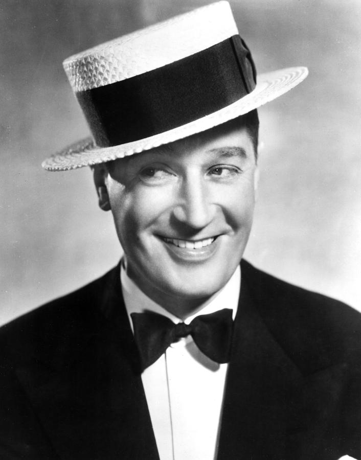 Bowtie Photograph - Maurice Chevalier, 1930s by Everett