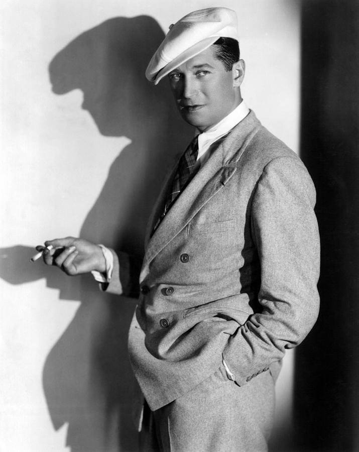 1930s Fashion Photograph - Maurice Chevalier, Ca. 1930s by Everett