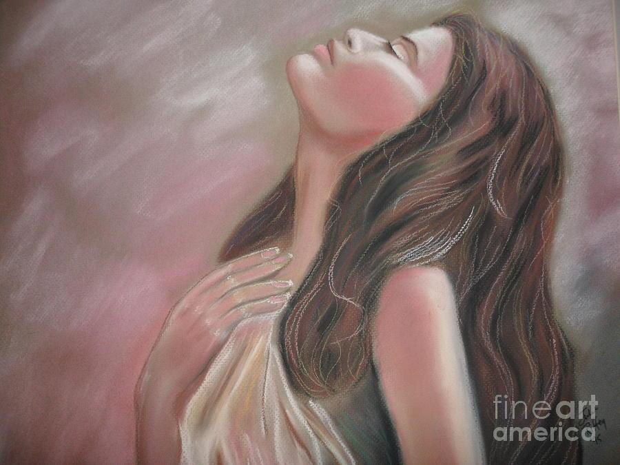 Dream Pastel - Mauve Lights by Julie Brugh Riffey