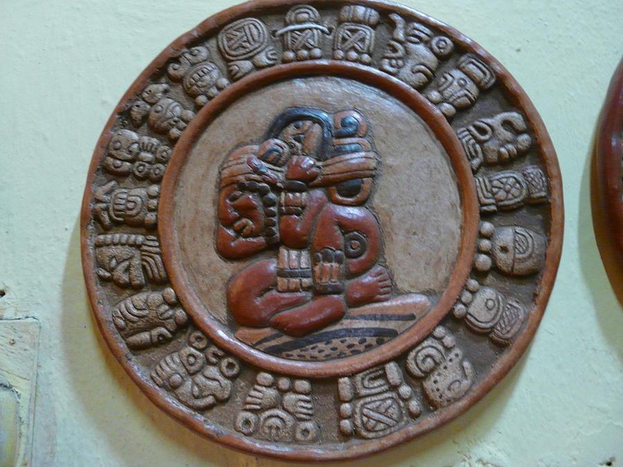 Maya Photograph - Mayan Art 2012 by Juan Francisco Zeledon
