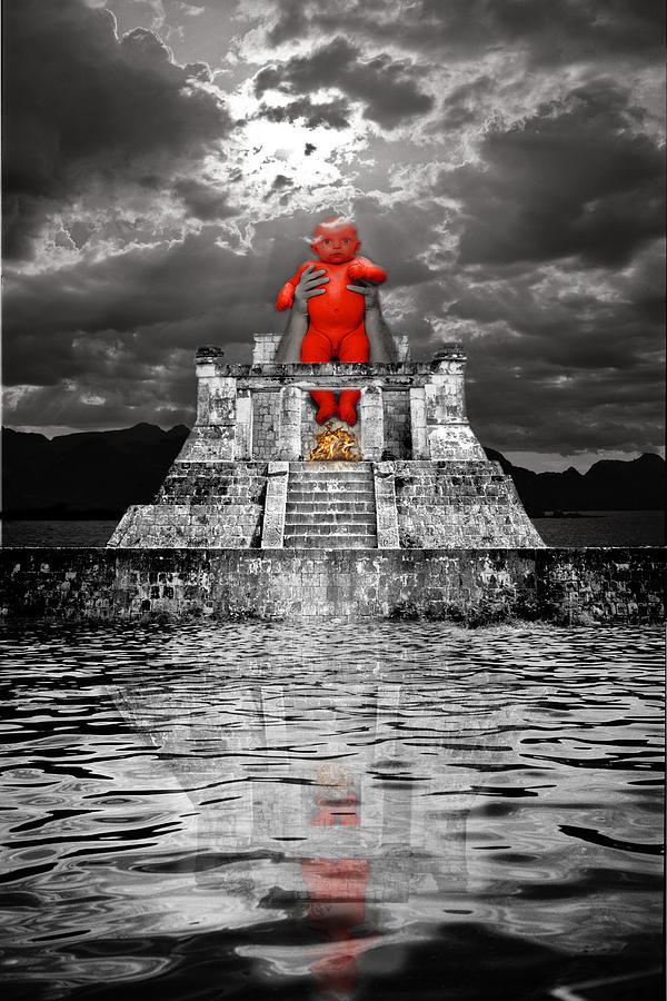Mayan Sacrifice Photograph by Andy Frasheski
