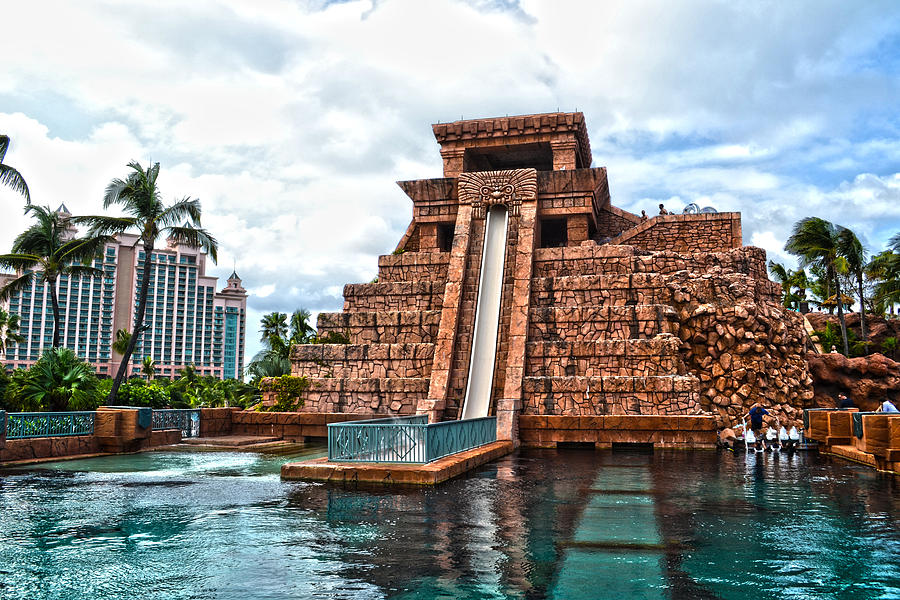 Mayan Slide Temple Of Atlantis 2011 Photograph By Timothy