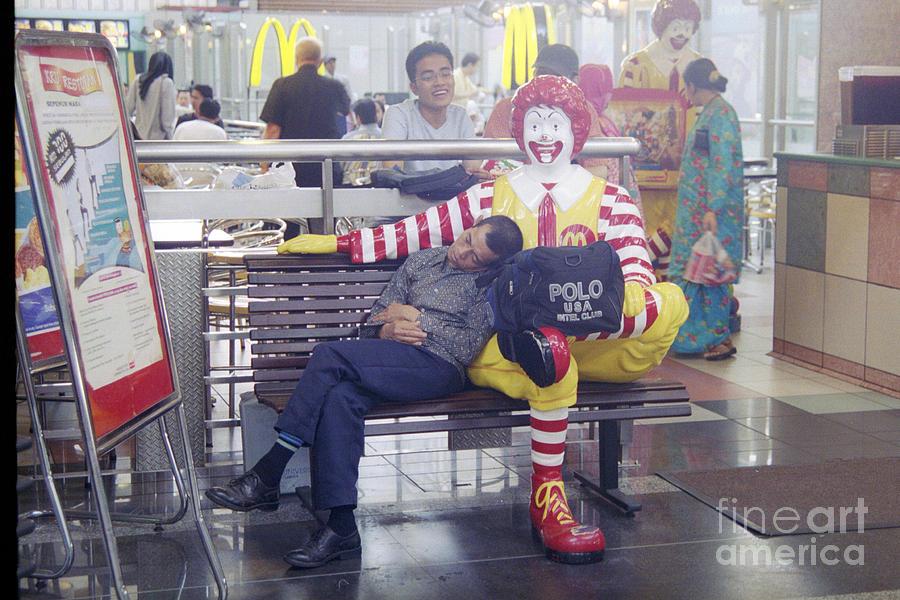 Macdonalds Photograph - Mcdonalds Malasia by David Wenman