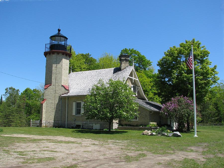 Lighthouse Photograph - Mcgulpin Point Light After by Keith Stokes