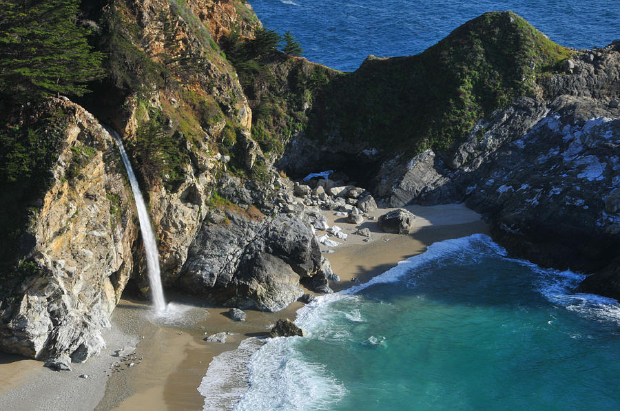 Ca Photograph - Mcway Falls by Lynn Bauer