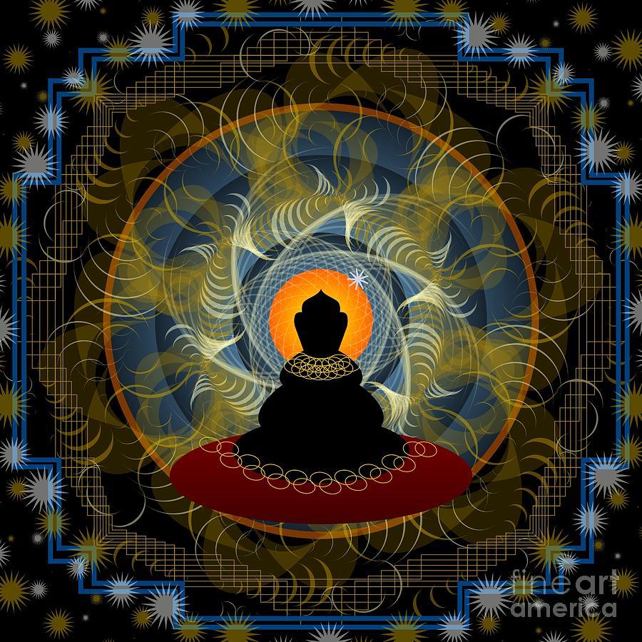 Meditation 2012 Digital Art by Kathryn Strick