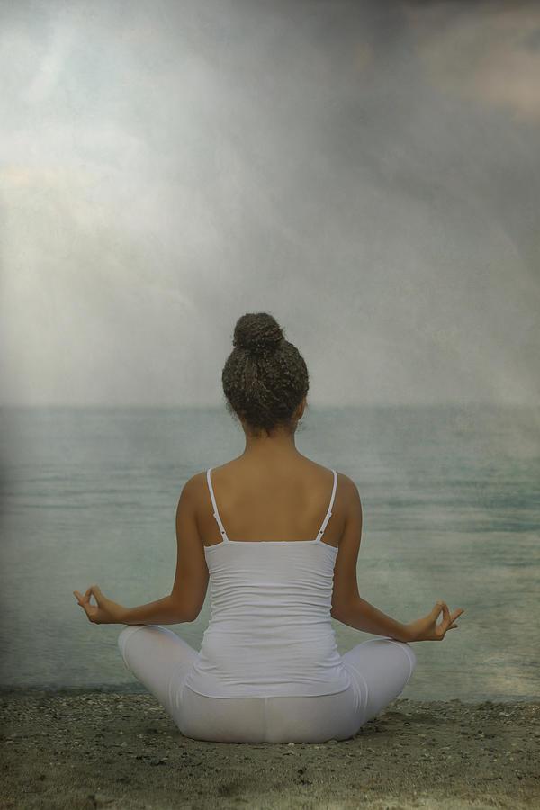 Female Photograph - Meditation by Joana Kruse